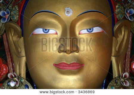Buddha Statue, Ladakh, India
