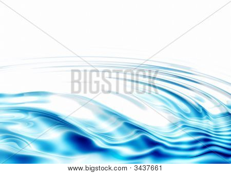 Fresh, Crystal Clear  Water Ripples