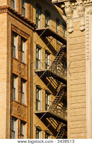 Brownstone Fire Escape