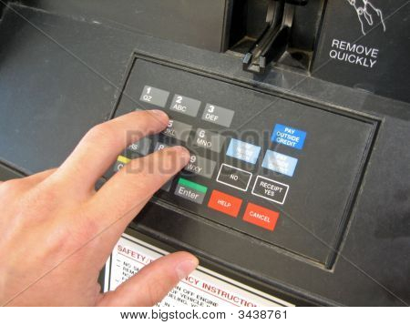 Gas Pump Keypad