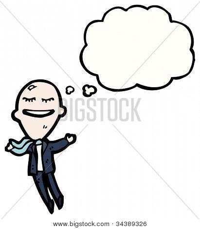 big ego businessman cartoon