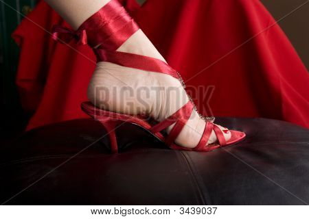 Woman'S Foot In Sexy Shoe