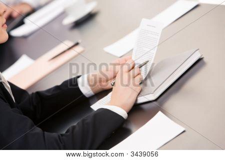Lectura de un documento