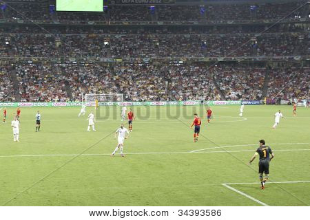 Euro 2012. España vs Francia