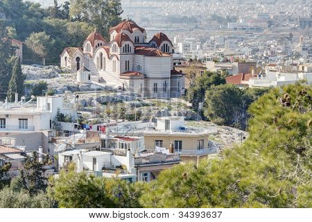 Agia Marina Greek Orthodox Church in Athens