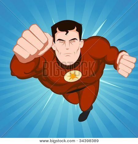 Red Superhero