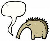 image of ant-eater  - cartoon anteater - JPG