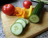 Mixed Salad Veg poster