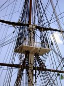 picture of uss constitution  - the uss constitution in boston - JPG