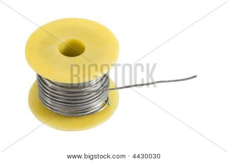 Spool Of Tin For Soldering