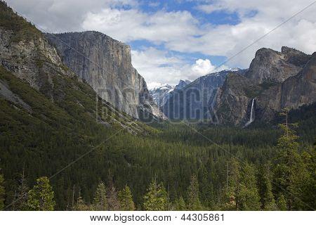 Tunnel View, Yosemite National Park, California, Usa