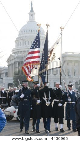 Color Guard im US capitol
