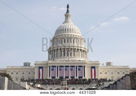 Obama Inauguration At U.s. Capitol