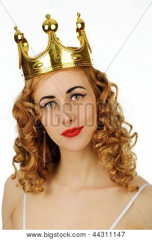 Woman In Crown