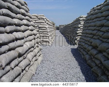 Trench world war one