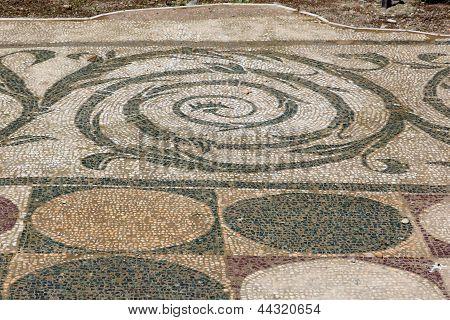 Terme Di Caracalla - detalle de planta