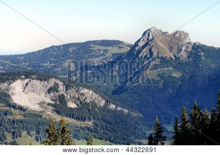 The Aggenstein in the Allgaeu Alps