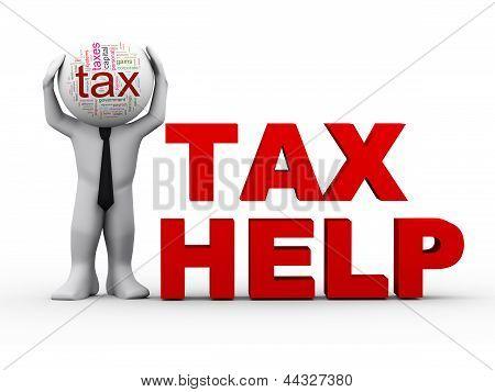 Hombre 3D Tax Help