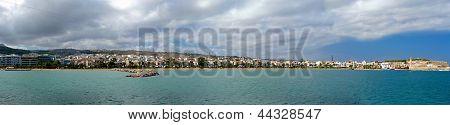 Rethymno. Panorama.