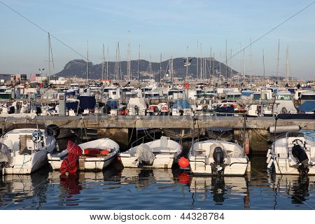 Marina In Algeciras. Andalusia Spain
