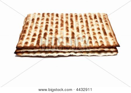 Macro Of Matzoh (matza)