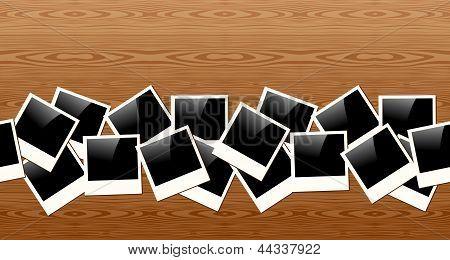 Old Polaroid Photo Pattern