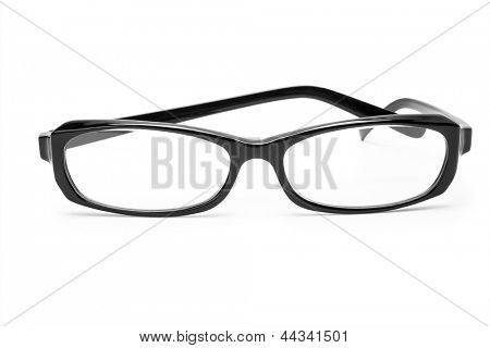 glasses isolated on white background