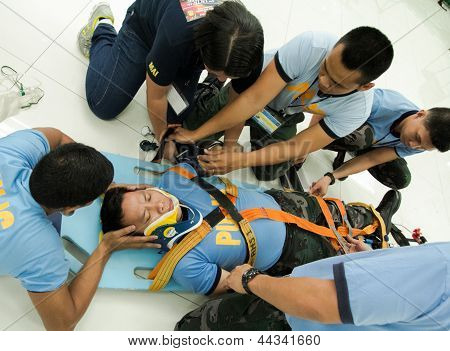 First aid and rescue