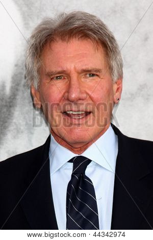LOS ANGELES - APR 9:  Harrison Ford arrives at the