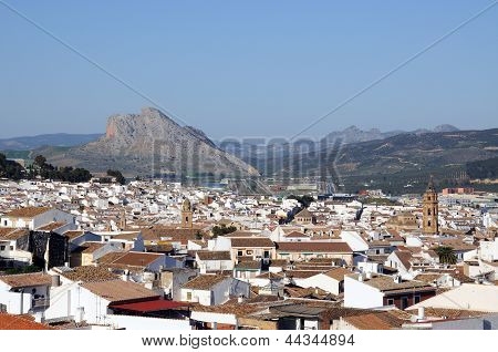 White town, Antequera, Andalusia, Spain.
