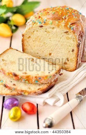 Sliced Sweet Bread