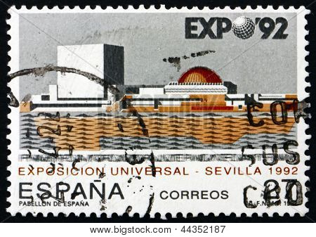 Postage Stamp Spain 1992 Expo '92, Seville