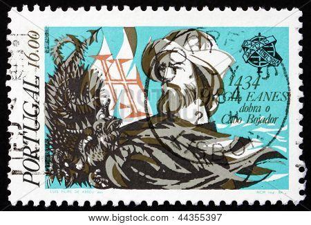 Postage Stamp Portugal 1984 Gil Eanes, Explorer