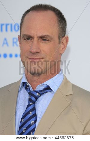 LOS ANGELES - APR 9: Christopher Meloni at the Los Angeles Premiere of '42' at TCL Chinese Theater on April 9, 2013 in Los Angeles, California