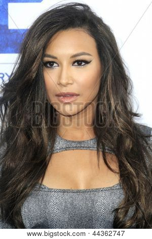 LOS ANGELES - APR 9: Naya Rivera at the Los Angeles Premiere of '42' at TCL Chinese Theater on April 9, 2013 in Los Angeles, California