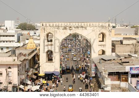 View from Charminar Tower