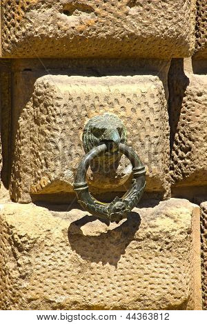 Eagle Head Door Knob, Alhambra, Spain