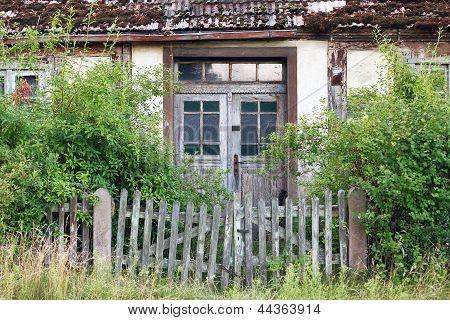 Dilapidated Farmhouse In The Uckermark