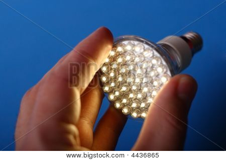 Led Light In Hand