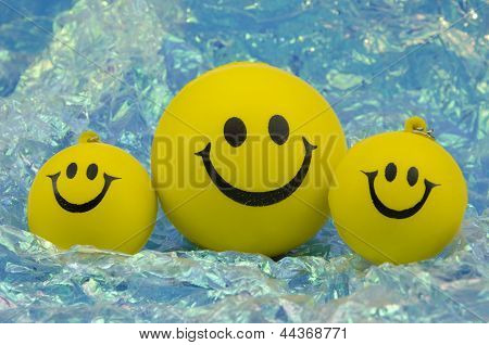 Family Of Happy Smileys