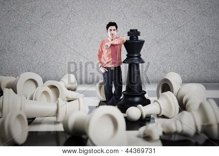 Chess Winner Business Concept