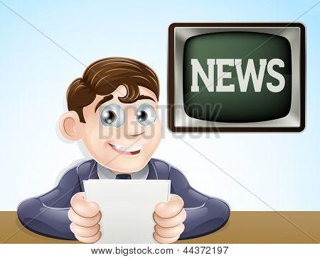 Nachrichtenreporter