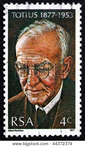 Postage Stamp South Africa 1977 Dr. Jacob Daniel Du Toit