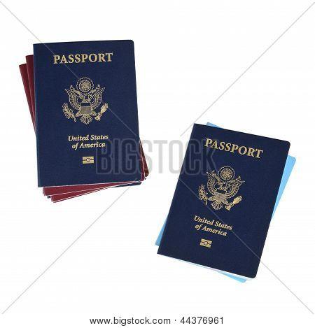 Two Passport Stacks