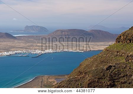 La Graciosa Island View From Lanzarote