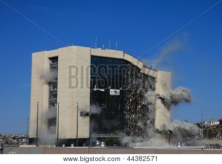 Implosion of City Hall