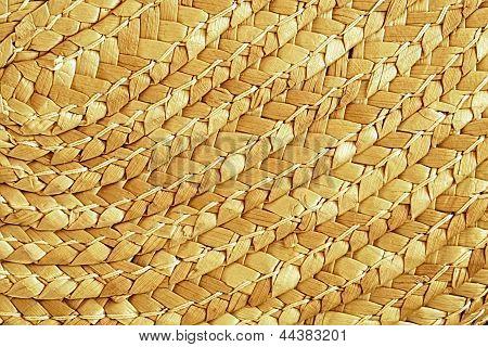 Straw Texture Pattern