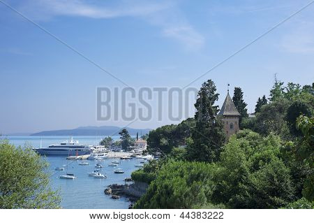 Opatija Bay, Croatia tourism