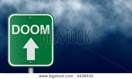 Road Sign To Doom