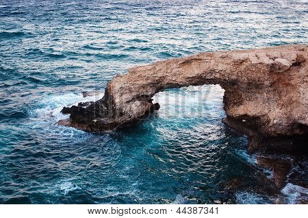 Sea rocky Caves in Ayia Napa, Cyprus